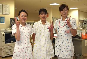 看護部のユニフォーム