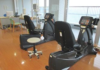 理学療法士部門訓練室風景