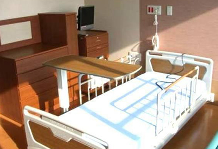 4F~8F病棟・個室A ベッド