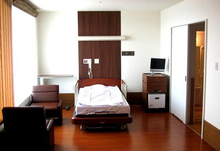 4F~8F病棟・個室B ベッド